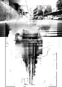 Milan Below the Surface by Sham Enbashi, via Behance