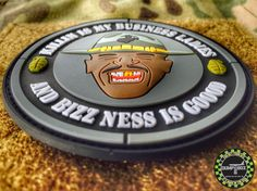 KILLIN IS MY BUSINESS LADIES MAJOR PAYNE PVC MILITARY MORALE PATCH