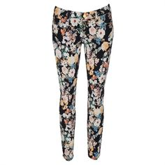 7 For All Mankind Women's Contemporary Skinny Floral Jean #VonMaur #7ForAllMankind #Jeans #Floral