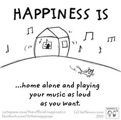 Happiness is...but Aaden loves music too :)