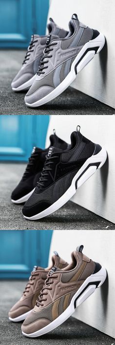 US $26.44 <Click to buy> Prikol Trendy Luxury Brand Men Tennis Shoes Light Weight Flexible Sports Shoes For Men Wearable Good Quality Sneaker Obuv