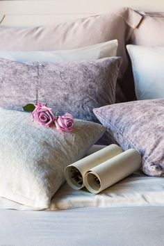 Shop Lavender Fields for Beautiful Bedding, Rugs and High Quality Furniture, Coastal Style, Farmhouse Style & French Country Bedding & Decor, Beautiful and Unique Gifts For Everyone. Lilac Bedroom, Pretty Bedroom, Queen Bedding Sets, Comforter Sets, French Country Bedding, Love Lily, Linen Bedding, Bed Linens, Luxury Bedding Collections