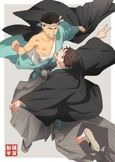 Oikawa and Iwaizumi | Haikyuu!!