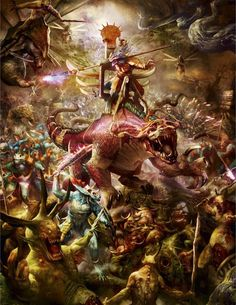 seraphon art | 1000+ images about Age of Sigmar Illustrations on ...