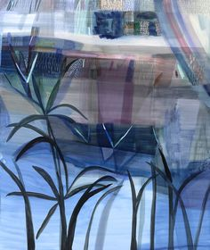 Possibility Landscape (Silver Moon), 2014, oil on linen, 182 x 153 cm Emily Ferretti   Sophie Gannon Gallery
