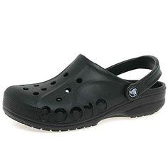 Crocs Womens Baya Ladies Mule 8 BM US Black *** Visit the image link more details.