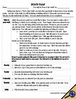 creative writing poetry lesson plans
