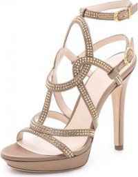 Strappy Sandals #Versace #Shoes