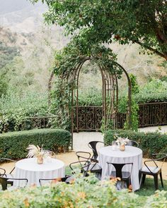 La Tavola Fine Linen Rental: Jocelyn Black | Photography: Jana Williams, Venue & Catering: Ojai Valley Inn, Event Planning: Sterling Social, Florals: JL Designs, Paper Goods: Swell Press, Rentals: Found Rentals and Theoni Collection
