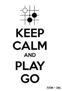 Keep Calm And Play Go