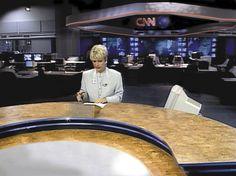 Newsroom and Broadcast set for CNN International