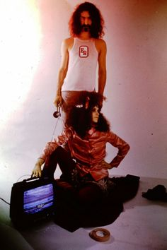 Miss Christine with Frank Zappa. Hot Rats, 1969