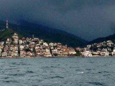 Sailing in the rain #PuertoVallarta