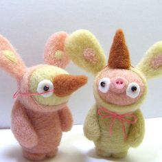 Kit Lane -- extraordinary, eclectic (sometimes slightly disturbing) needle felting master by jocelyn