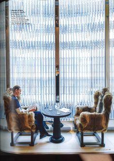 From Elle Decoration Juin 2015 Bacarrat Hotel New York