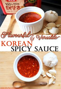 Flavourful and Versatile Korean Spicy Sauce Gochujang #kitchenmissus #koreanspicysauce #gochujang