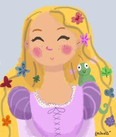 rapunzel caricature - Pesquisa Google
