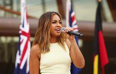 Friend or foe of indigenous culture? Jessica Mauboy as Australia Day poster girl Jessica Mauboy, Australian People, National Symbols, Aboriginal People, Australia Day, Celebs, Celebrities, Jessie, Stage