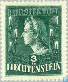 Liechtenstein - Princess Gina 1944