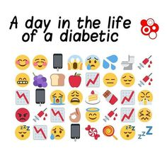 All the little emojis are so relatable, sometimes it just gets so overwhelming  #typeonediabetes #diabeticproblems #diabetes #diabetic #typeone