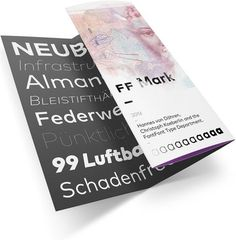 FF Mark brochure mock-up