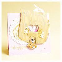 wedding greeting card with squirrel and kissing hedgehogs #cardmaking #digistamp #squirrel #hedgehog #wedding