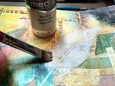 Mixed Media Blog Project - Working in Art Journal Pages - Art journaling is a wonderful form of self expression. Whether your pages are completely mixed media art or you add letters and sentiments to your pages; they should reflect you, your thoughts and your own authentic style.While I typically do not add a lot of words to my art, I did in this case. I created these journal pages for DecoArt's Mixed Media blog as well as art journaling from word prompts with an online class I am taking…