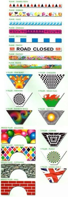 Filler designs