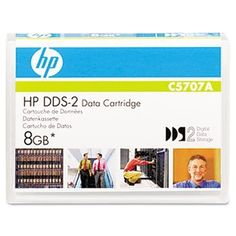 "1/""""DDS-2 Cartridge, 120m, 4GB Native/8GB Compressed Capacity by HP. $16.07. HP DSS cartridges provide a great low-cost"