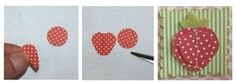 Punched fruit - strawberries