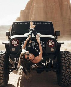Jeep girls page Jeep Wrangler Girl, Jeep Wrangler Rubicon, Jeep Wrangler Unlimited, Trucks And Girls, Car Girls, Rodeo Girls, Jeep 4x4, Jeep Truck, Jeep Baby