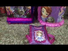 como hacer un dulcero facil Princesa Sofia, Sofia the first party bah - YouTube