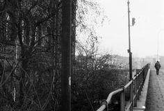 Podgórze 1980/81. Zdjęcia Mariusza Undasa i Jerzego Szeligi.Fragment szkoły przy ulicy Sokolskiej