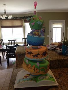 Dr.Seuss:Oh the places you will go by dori... | Cake Decorating Ideas