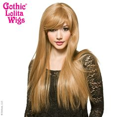 Gothic Lolita Wigs® <br> Bella™ Collection -  Honey Milk Tea Mix -00422