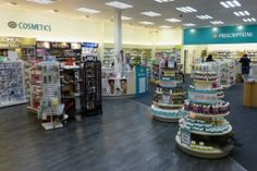 Unichem Richmond Mall Pharmacy (Nelson) - Recently marketed as 'wow factor on a budget' we were delighted to help deliver a great design for a full (mall) refit, under budget and on time. Using local contractors, quality materials and workmanship. We have had many requests for the design of our circular promotional gondla since.