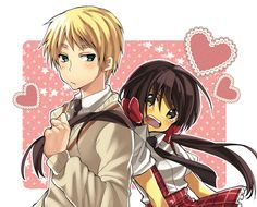 Kinda cute ship,but still like UsUk more.  Not gonna lie, though