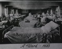 Images from the History of Medicine (NLM): A Ward - 1920
