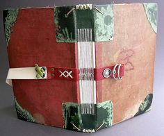 custom binding ( for a friend ) 2 by ortbindery, via Flickr
