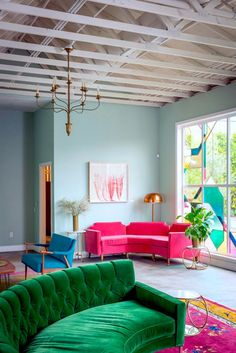 Pink Brings To Mind Cotton Candy, Bubble Gum, And Valentine's Day, Not Necessarily Home Decor. So Here Are My Tips To Help You Add Pink In The Living Room!