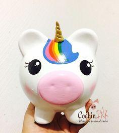 #unicornio #unicorn #unicornios #unicorniosdecolores #colores #cuernos #piggyunicorn #piggy #cute #alcanciaspersonalizadas #alcancia #hechoamano