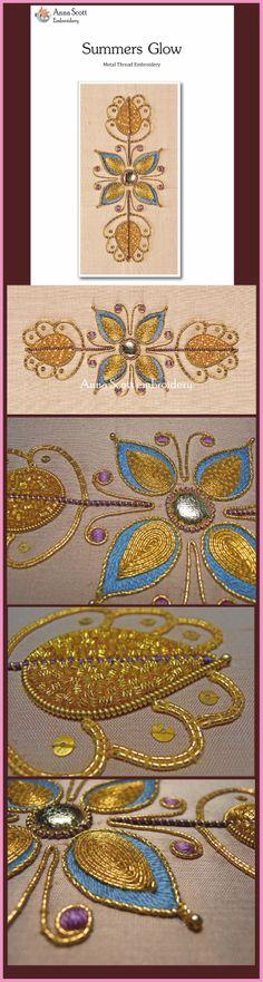 Motif floral, cannetille https://www.etsy.com/fr/shop/AnnaScottEmbroidery?ref=listing-shop-header-item-count