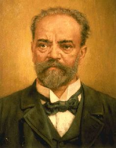 "Czech composer Antonín Dvořák He learned the violin and the organ as a boy. Well known for his Symphony n° ""From the New World. Romantic Composers, Classical Music Composers, Romantic Music, People Of Interest, Folk Music, Conductors, Music Love, Famous Artists, Anton"