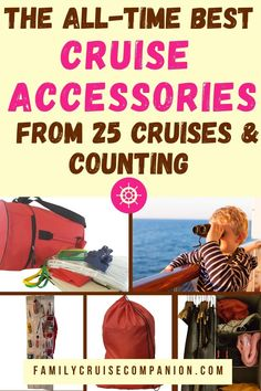 These simple cruise accessories can help your family stay comfortable, organized, and happy on your cruise vacation! We have used these cruise accessories time and time again across dozens of family cruises. Don't finish packing before checking this list! (Updated for 2021) Top Cruise, Best Cruise, Cruise Tips, Cruise Vacation, Travel With Kids, Family Travel, Family Cruise, Cruises, How To Introduce Yourself