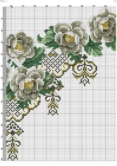 Cross Stitch Rose, Cross Stitch Charts, Cross Stitch Patterns, Hobbies And Crafts, Diy And Crafts, Sewing Stitches, Craft Sale, Filet Crochet, Rug Hooking