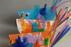 13 rainy day spring inspired toddler crafts