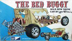 Vintage Trucks The Bed Buggy - George Barris - Vintage Models, Old Models, Plastic Model Kits, Plastic Models, Hot Rods, Chevy Truck Models, Monogram Models, New Aircraft, Model Cars Kits