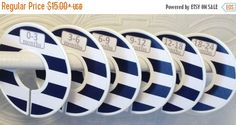SALE Custom Baby Closet Dividers Organizers in Wide Navy Stripes with Grey Font CD105 Boy Girl Baby Shower Nursery Gift Clothes Organizers by GinaMarieOriginals on Etsy https://www.etsy.com/listing/203175332/sale-custom-baby-closet-dividers
