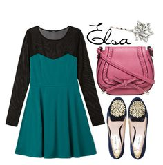 """""""Elsa"""" by liesle ❤ liked on Polyvore featuring Forever 21, Miu Miu and Dorothy Perkins"""