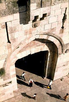 Jaffa Gate, Jerusalem, from City Walls |